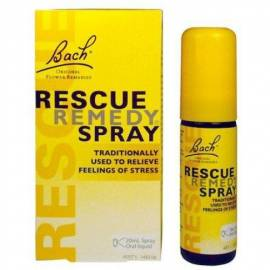 FLOR DE BACH RESCUE REMEDY SPRAY-RESCATE SPRAY 20 ML