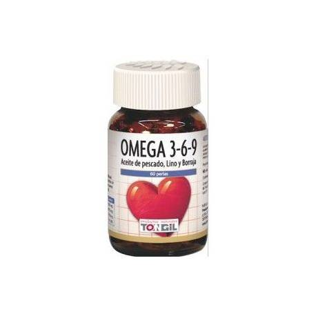 OMEGA 3-6-9  60 PERLAS TONGIL