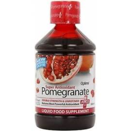 SUPER ANTIOXIDANT POMEGRANATE JUGO CONCENTRADO DE GRANADA ANTIOXIDANTE 500ML OPTIMA