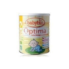 LECHE BEBE BABYBIO 2 OPTIMA BIOLOGICA 900GR