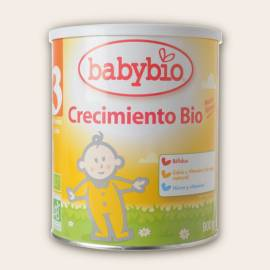 LECHE BEBE CRECIMIENTO OPTIMA BIOLOGICA 900GR