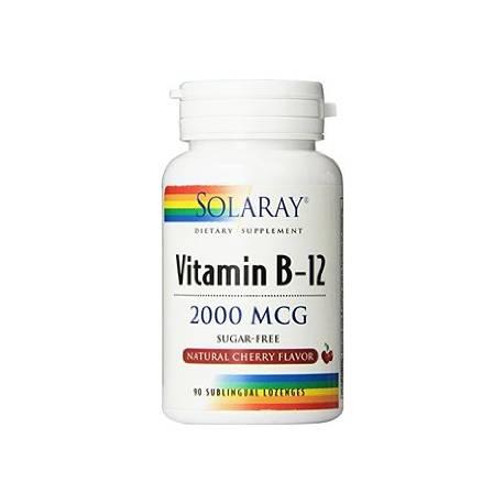 VITAMINA B12 1000 MCG 90 COMPRIMIDOS SOLARAY