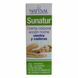 SUNATUR CREMA REDUCTORA DE NOCHE 200ML NATYSAL