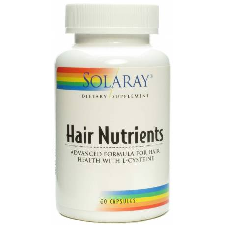 HAIR NUTRIENTS 60 CÁPSULAS  SOLARAY