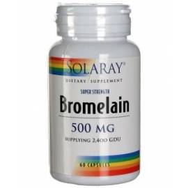 BROMELAINA BROMELAIN 60 CAPSULAS SOLARAY FORMULA DIGESTION
