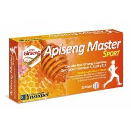 APISENG  MASTER SPORT 20 VIALES YNSADIET JALEA REAL GINSENG
