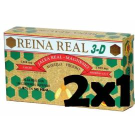JALEA REAL 3D 1800 MG 20 AMPOLLAS ROBIS