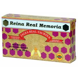 REINA REAL MEMORIA JALEA REAL ROBIS 20 AMPOLLAS