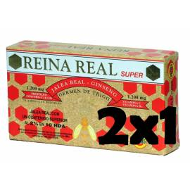 REINA REAL SUPER - JALEA REAL - 20 VIALES - ROBIS