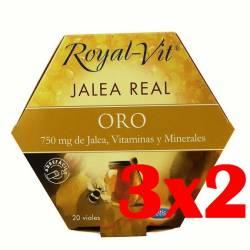 JALEA REAL ROYAL VIT ORO 20VIALES DIETISA