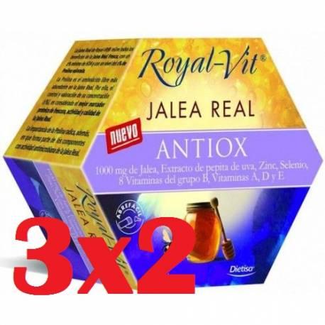 ROYAL VIT JALEA REAL ANTIOX - 20 VIALES - DIETISA