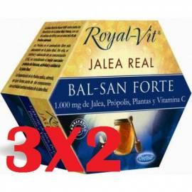 JALEA REAL BALSAMICA ROYAL VIT BAL-SAN FORTE 20 VIALES DIETISA CONGESTION RESPIRACION