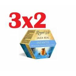 JALEA REAL ROYAL VIT INFANTIL 20 VIALES DIETISA