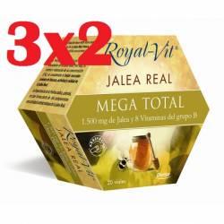 JALEA REAL ROYAL VIT MEGA TOTAL 20 VIALES DIETISA FATIGA
