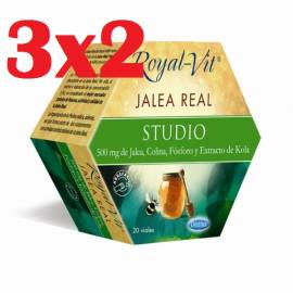 JALEA REAL ROYAL VIT ESTUDIO 20 AMPOLLAS DIETISA