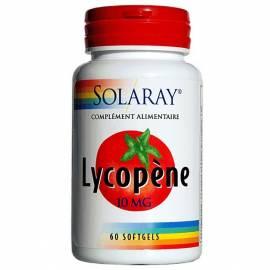LYCOPENE LICOPENO 60 PERLAS SOLARAY ANTIOXIDANTE