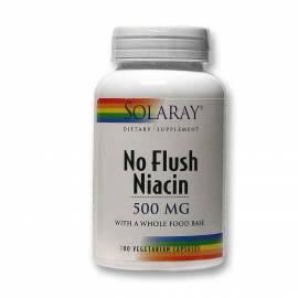 NIACIN 500MG NIACINA VITAMINA B3 100 CAPSULAS VEGETALES