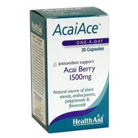ACAIACE BAYAS DE ACAI 1500MG 30 CAPSULAS HEALTH AID FORMULA VITAMINAS Y MINERALES