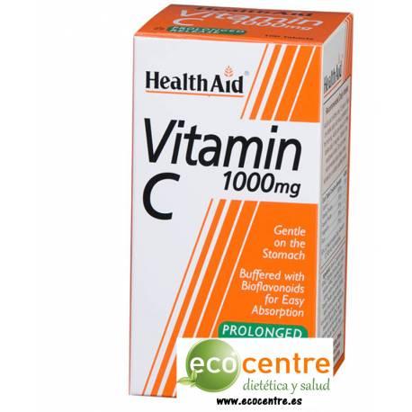 VITAMINA C 1000MG CON BIOFLAVONOIDES 60 COMPRIMIDOS HEALTH AID