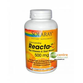 REACTA-C 500MG 60 CAPSULAS VEGETALES SOLARAY VITAMINA C