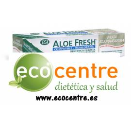 PASTA DIENTES BLANQUEADORA ALOE FRESH 100 ML ESI HOMEOPATIA