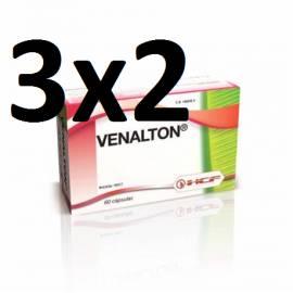 VENALTON 60 CAPSULAS HCF PIERNAS CANSADAS VARICES