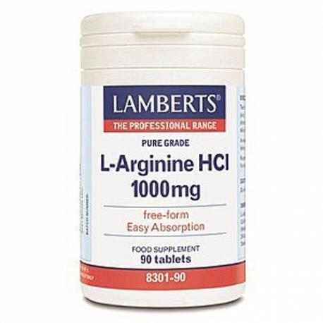 L-ARGININA 1000MG 90 COMPRIMIDOS LAMBERTS