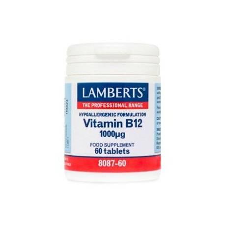 VITAMINA B12 1000UG 60 COMPRIMIDOS LAMBERTS