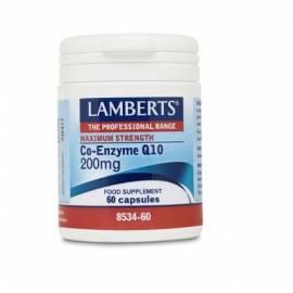 COENZIMA Q10 200 MG 60 CÁPSULAS LAMBERTS FORMULA ANTIOXIDANTE