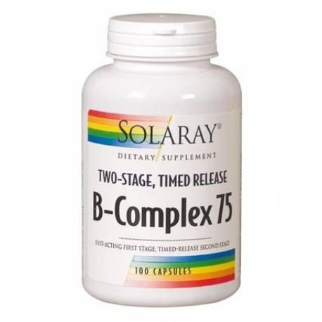 B-COMPLEX75  100 CÁPSULAS SOLARAY