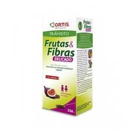 FRUTAS Y FIBRAS NIÑOS JARABE 250 ML ORTIS