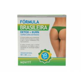 FÓRMULA BRASILEÑA DETOX + BURN  60 + 60 COMPRIMIDOS DIETMED