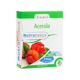 ACEROLA 30CAP. NUTRABASICS DRASANVI