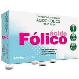 ÁCIDO FÓLICO 64 COMP. SORIA NATURAL