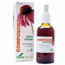 COMPOSOR 08 ECHINA COMPLEX 50 ML SORIA NATURAL EQUINACEA PROPOLIS FORMULA DEFENSAS