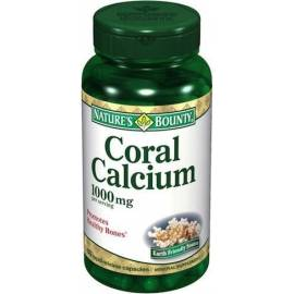 CALCIO CORAL  1000 MG 60 CAPSULAS  NATURE'S BOUNTY