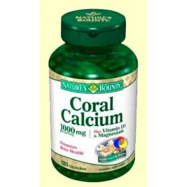 CALCIO CORAL  1000 MG 120 CAPSULAS  NATURE'S BOUNTY