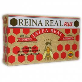 JALEA REAL REINA REAL PLUS 2000 MG 20 AMPOLLAS ROBIS