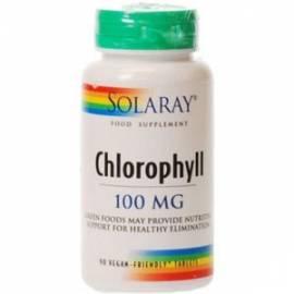 CHLOROPHYLL CLOROFILA 90 CÁPSULAS SOLARAY