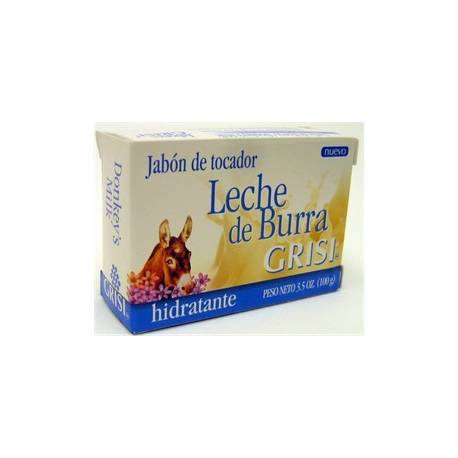 Pastilla De Jabon Leche De Burra 100 Gr Grisi Por 4 46 En Ecocentre