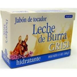 PASTILLA DE JABON LECHE DE BURRA GRISI